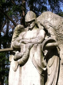 Archangel Michael in Lake View Cemetery, Cleveland