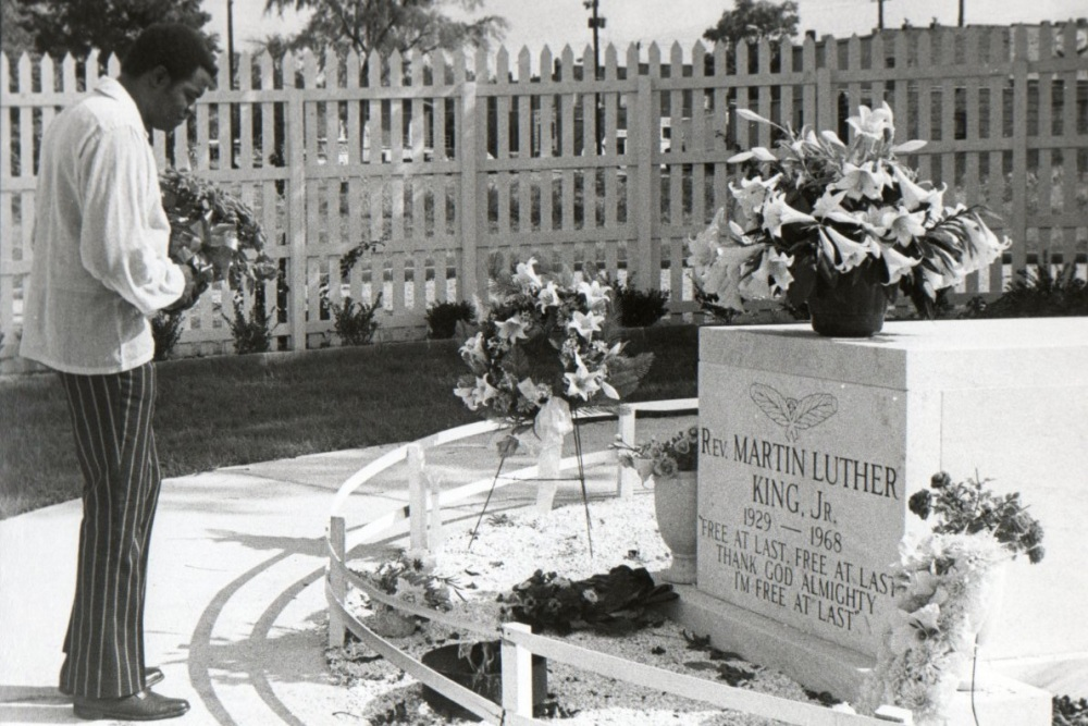 Cemetery of the Week #46:  the Martin Luther King Jr. gravesite (3/3)