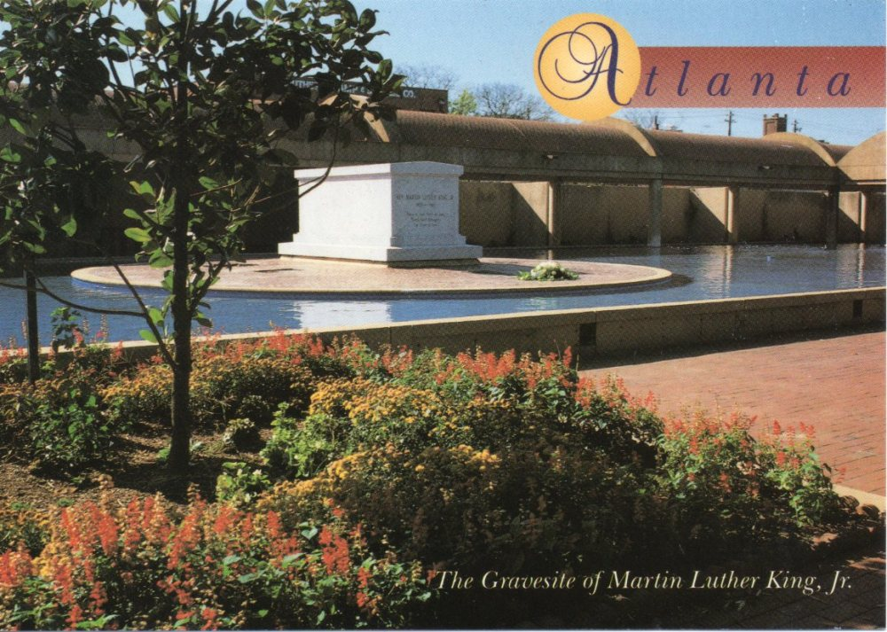 Cemetery of the Week #46:  the Martin Luther King Jr. gravesite (1/3)