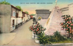 """The most interesting of New Orleans historic burial places..."""