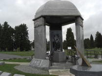 Jimi Hendrix monument, Greenwood Memorial Park, Renton, Washington