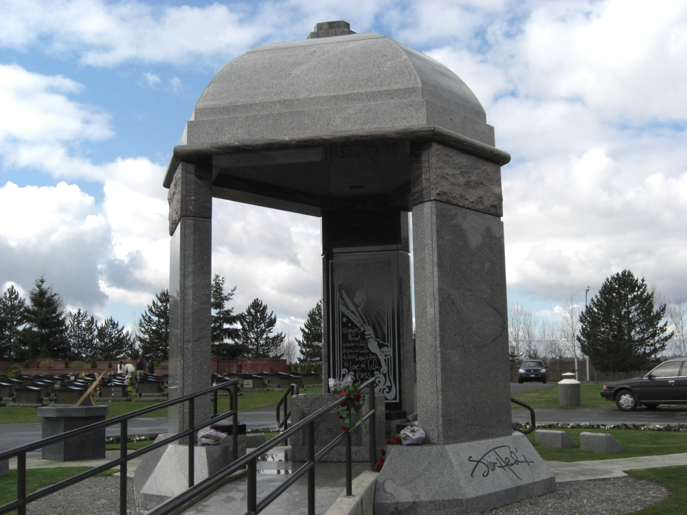 Cemetery of the Week #49:  The Jimi Hendrix Monument (1/3)