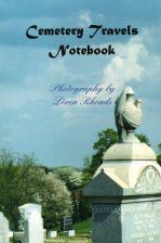Cover of the Cemetery Travels Notebook