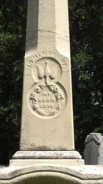 In Memory of My Dear Ekie, Avondale Cemetery, Stratford, Ontario, Canada