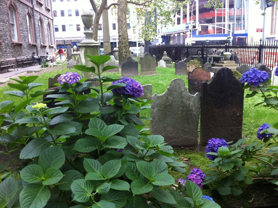 St. Paul's Churchyard, Manhattan, New York
