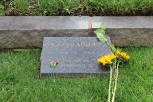 The master's headstone