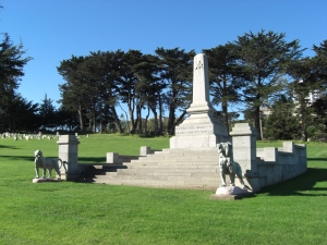 The Masonic Pioneers monument