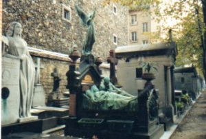 The Pigeon family monument, Montparnasse Cemetery