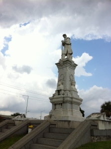 The first Civil War monument in New Orleans