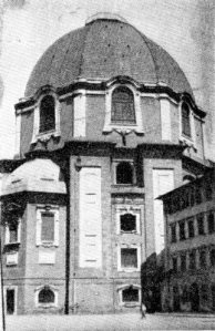 Exterior of the Chapel of the Princes, Church of San Lorenzo, Florence