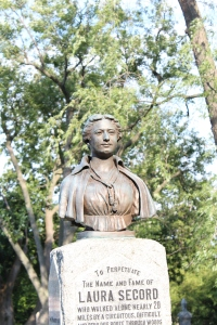 Laura Secord's monument was unveiled in 1901.