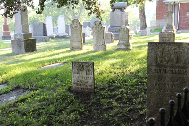 View of Drummond Hill Cemetery, Niagara Falls