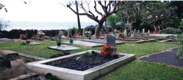 View of Keawala'i Churchyard