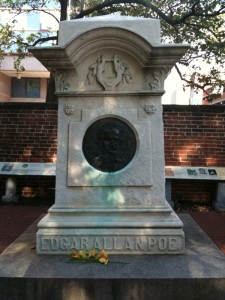 Poe's Grave as photographed by Mason Jones