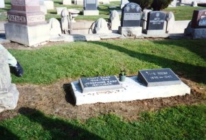 Wyatt Earp's second -- or third? -- headstone