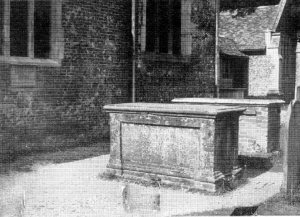 Thomas Gray's tomb
