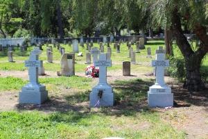 The new Russian gravestones