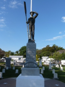 The USS Maine Monument, as photographed by Kathleen Rhoads.