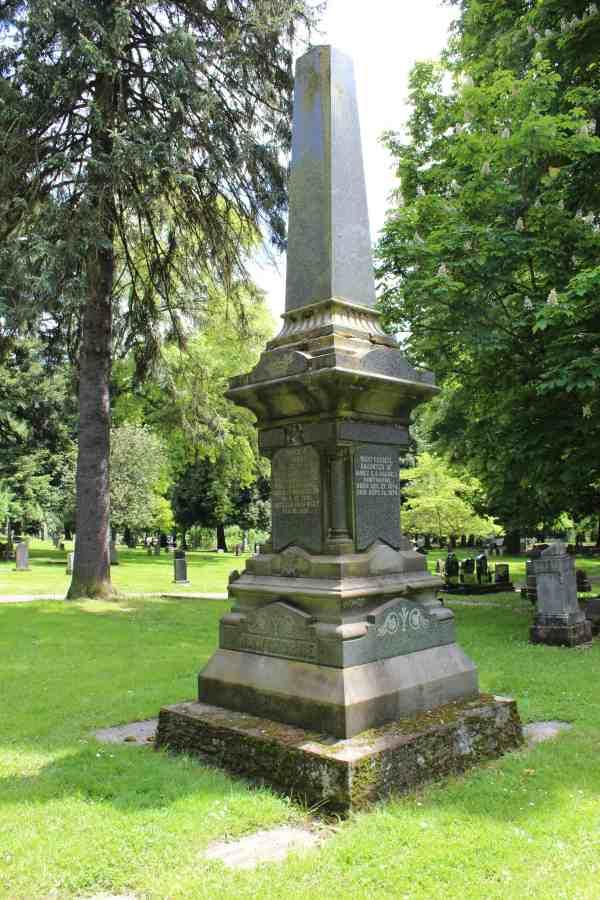 Dr. Hawthorne's obelisk