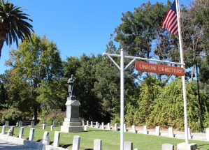 The Grand Army of the Republic plot at Union Cemetery