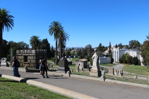Mountain View Cemetery tour, led by Arthur Kay
