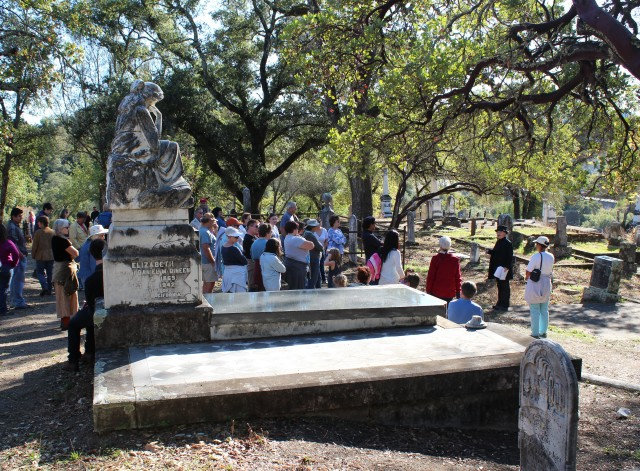 Tour of Cloverdale Cemetery, led by Susan Bennett