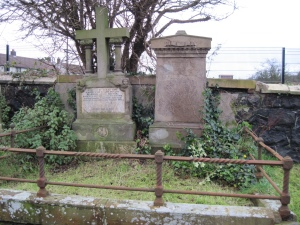 James Read's grave in Ireland. Photo by Anne Born.