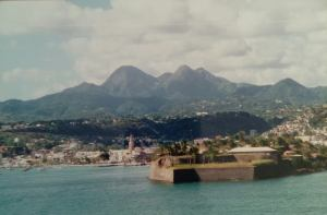 Martinique postcard